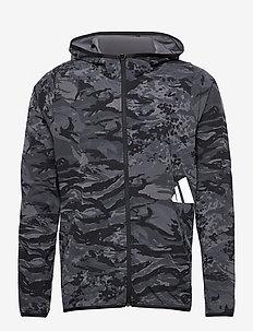 FreeLift Camouflage Training Hoodie - hoodies - black