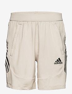 AEROREADY 3-Stripes Slim Shorts - training korte broek - alumin