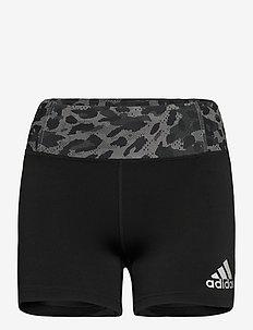 Fast Primeblue Graphic Booty Shorts W - training shorts - black/grefou