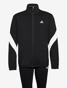 Sportswear Cotton Track Suit - trainingspakken - black/white