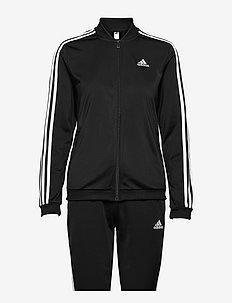 Essentials 3-Stripes Track Suit W - træningsdragter - black/white