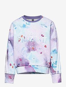 Disney Frozen Crew Sweatshirt - sweatshirts & hættetrøjer - joypur/blipur/iceblu/