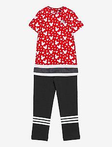 Disney Minnie Mouse Summer Set - tøj - vivred/white/black