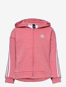 3-Stripes Full-Zip Hoodie - hoodies - hazros/white