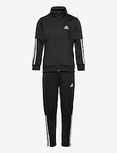 3-Stripes Team Track Suit - dresy & zestaw 2 szt - black/white