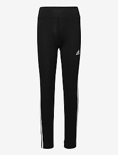 Designed To Move 3-Stripes Medium Waist Tights W - løbe- og træningstights - black/white