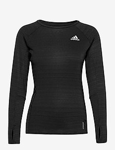 Runner Long Sleeve T-Shirt W - longsleeved tops - black/refsil