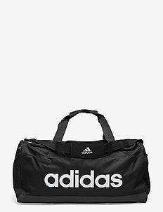 Essentials Logo Duffel Bag Medium - naujienos - black/white