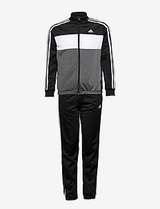 Essentials Track Suit - dresy & zestaw 2 szt - black/white/white