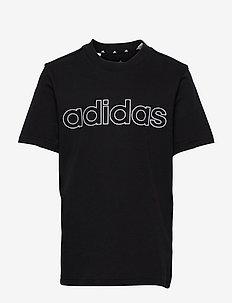 Essentials Tee - kortærmede t-shirts - black/white