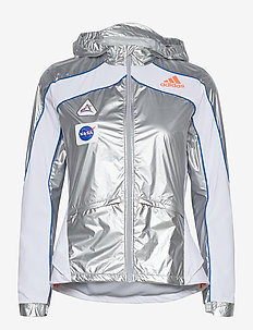 Marathon Space Race Jacket W - vestes d'entraînement - msilve/white