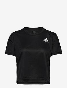 P.BLUE TEE W - t-skjorter - black/refsil