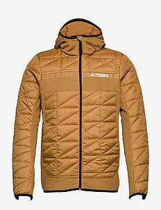 Terrex Multi Primegreen Hybrid Insulated Jacket - kurtki turystyczne - mesa