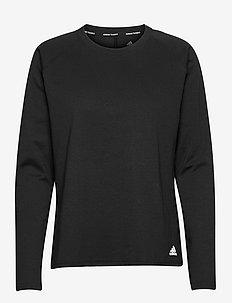 Dance Layering Pullover W - topjes met lange mouwen - black/white