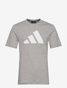 Sportswear Logo T-Shirt - sportoberteile - mgreyh