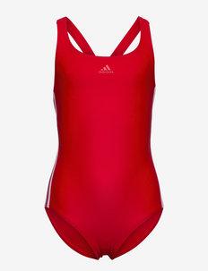 Athly V 3-Stripes Swimsuit W - bademode - vivred/white