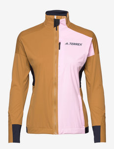 Terrex Xperior Cross-Country Ski Soft Shell Jacket W - frilufts- og regnjakker - mesa/clpink