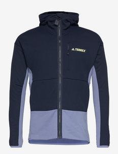 Terrex Zupahike Hooded Fleece Jacket - fleece - legink
