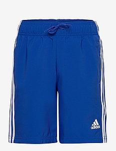 Essentials 3-Stripes Chelsea Shorts - sportsshorts - boblue/white