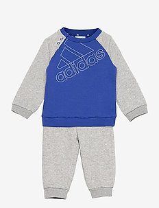 Essentials Logo Sweatshirt and Pants (Gender Neutral) - tracksuits & 2-piece sets - boblue/white