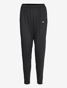Yoga Pants W - treenihousut - black
