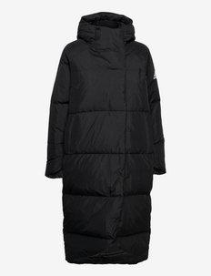 Big Baffle Down Coat W - outdoor- & regenjacken - black
