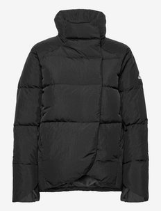 Big Baffle Down Jacket W - outdoor- & regenjacken - black