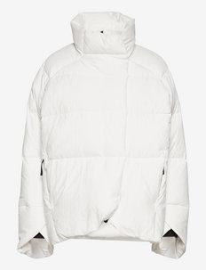 Big Baffle Down Jacket W - outdoor- & regenjacken - cwhite