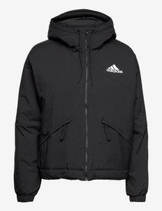 Back to Sport Hooded Insulated Jacket W - kurtki sportowe - black