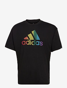 Pride Logo Graphic Tee (Gender Neutral) - sportoberteile - black/multco