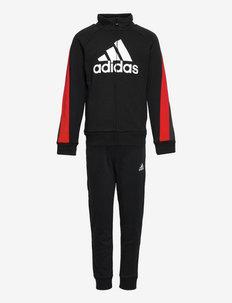 Colorblock Big Badge of Sport Track Suit - dresy & zestaw 2 szt - black/vivred/white