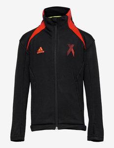 AEROREADY X Football-Inspired Track Top - leichte jacken - black/red