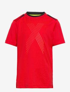 AEROREADY X Football-Inspired Tee - korte mouwen - red/black