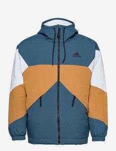 Back to Sport Insulated Hooded Jacket - veste sport - orbind