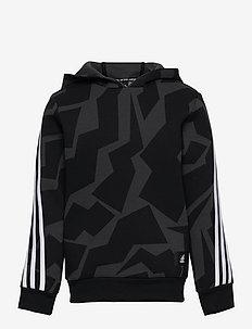 Future Icons 3-Stripes Graphic Hoodie - hoodies - carbon/black/white