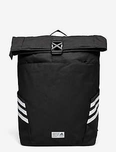 Classic Roll-Top Backpack - nyheder - black/white