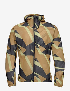 Terrex Agravic Graphic 2.5 Layer Rain Jacket - training jackets - mesa