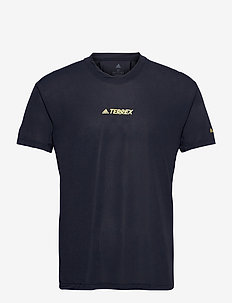 Terrex Parley Agravic Trail Running All-Around Tee - topy sportowe - legink
