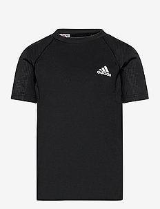 XFG AEROREADY Slim Sport Tee - korte mouwen - black/white