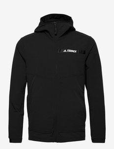 Terrex Multi Stretch Softshell Jacket - kurtki turystyczne - black