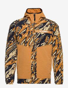 Terrex Multi Graphic Stretch Softshell Jacket - vestes d'extérieur et de pluie - mesa