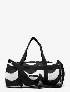 Marimekko Laine Small Duffel Bag W - træningstasker - white/black