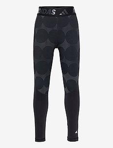 Marimekko Räsymatto Techfit Primegreen High Waist Tights W - sportleggings - carbon/black