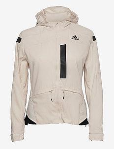 Marathon Translucent Jacket W - training jackets - wonwhi/black