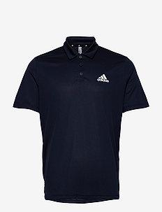 AEROREADY Designed To Move Polo Shirt - kurzärmelig - legink/white