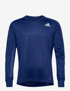 Own the Run Long Sleeve Tee - långärmade tröjor - vicblu