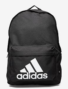 Classic Badge of Sport Backpack - neue mode - black/black/white