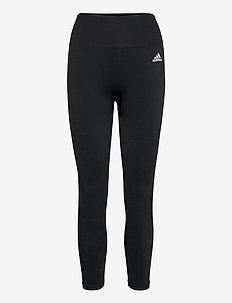 Aeroknit Yoga Seamless High Waist 7/8 Tights W - collants d'entraînement - black