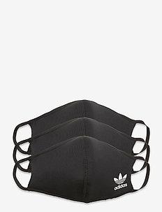 FACE CVR M/L - gezicht maskers - black/white