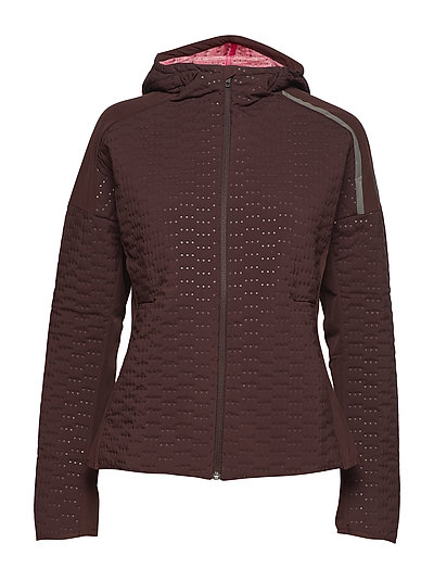 Z.N.E. Jacket W Outerwear Sport Jackets Rot ADIDAS PERFORMANCE
